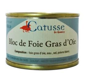 68 foie gras bloc gås