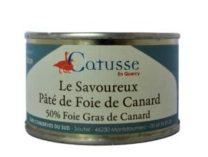 Savoureux - foie gras med paté 68 g